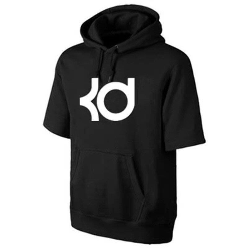 🔥KD杜蘭特Kevin Durant短袖連帽T恤上衛衣🔥NBA籃網隊Adidas愛迪達運動籃球衣服大學純棉T男240