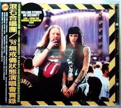 ROLLING STONES- 98 無戒備狀態演唱會實錄   CD無刮傷  含側標