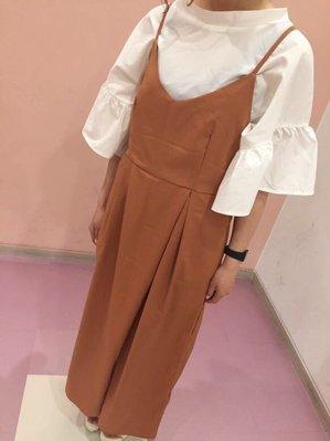 日本 Rivet& Surge schedule文字 傘袖 上衣 賣《白色》特價