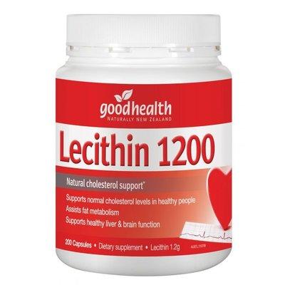 🔆D.S.代購紐西蘭Good Health Lecithin 卵磷脂 1200 (200顆)🔆