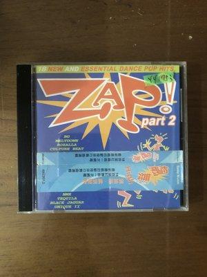 *還有唱片三館*ZAP PART 2 二手 YY1753 (需競標)