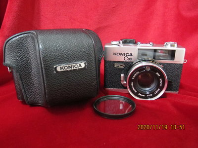 KONICA C35 FD  38mm f1.8 (疊影對焦)