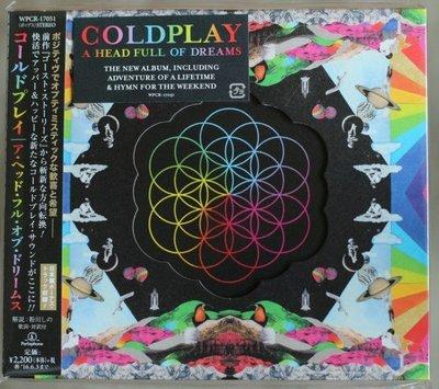 酷玩樂團 /夢過頭(全新日本加值版)Coldplay/A Head Full Of Dreams(JP Version)