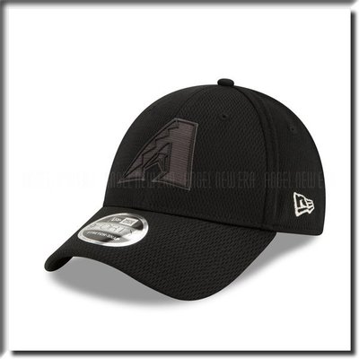 【ANGEL NEW ERA 】MLB 2019 球員周 亞利桑那 響尾蛇 老帽 鴨舌帽 全黑 可調 穿搭 低調 硬版