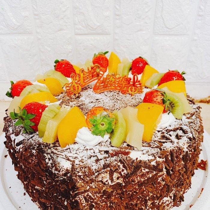 ❤歡迎自取 ❥ 雪屋麵包坊 ❥ 藝術款式 ❥ 黑森林 ❥ 10 吋生日蛋糕 ❥❥ 9 折優惠中