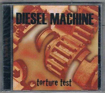 [鑫隆音樂]西洋CD-DIESEL MACHINE / torture test {SPV08572102CD}/全新