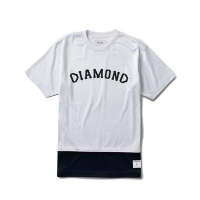 [WESTYLE] Diamond Supply Co Arch Mesh Tee 白 網布 球衣材質