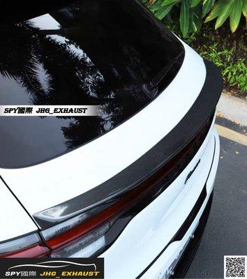 SPY國際 保時捷 Porsche Macan 新款 碳纖維 中尾翼
