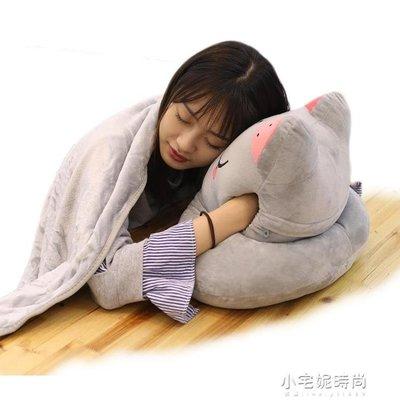 午睡枕趴睡枕學生暖手抱枕兩用女桌子趴著...