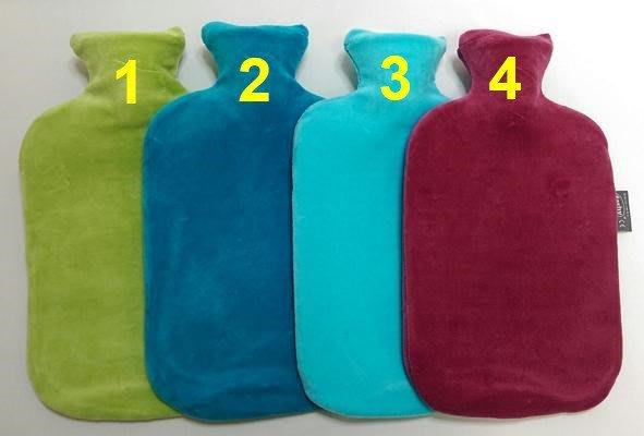 【宇冠】德國fashy 細絨素色造型 2L冷/熱水袋,特價優惠$1950元 (三入組)