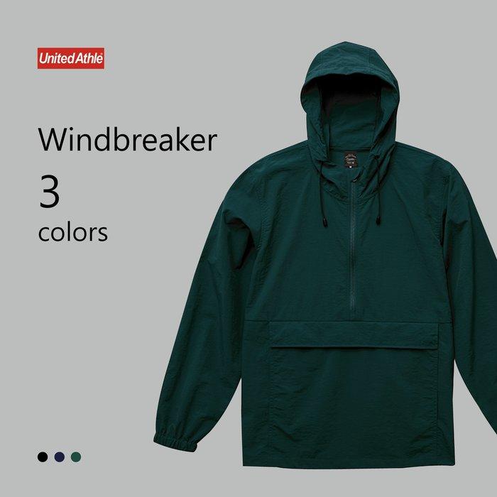 WaShiDa【UA7211】United Athle × 機能 防風外套 連帽 半開拉鍊 運動衫 (預訂款十月上旬到貨