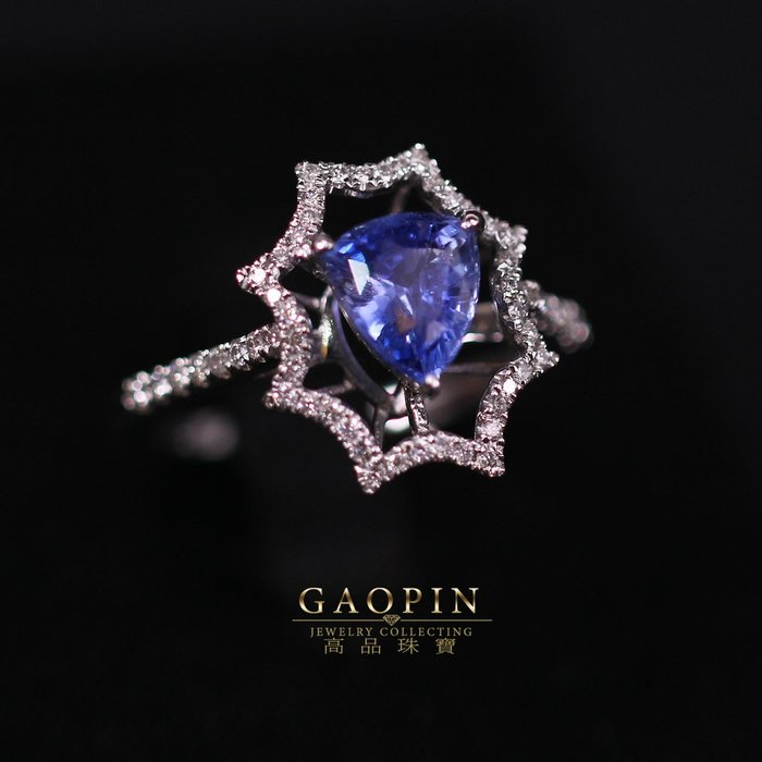 【高品珠寶】1.51克拉斯里蘭卡無燒藍寶石戒指 #2237