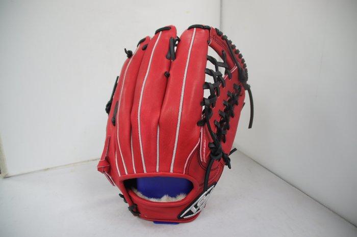 《星野球》Louisville Slugger 金剛II系列棒壘球手套 斜角T網檔 金剛紅色 2650免運
