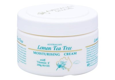 澳洲代購-G&M Lemon Tea Tree & Tea Tree Cream 檸檬茶樹维生素E霜(250g)。