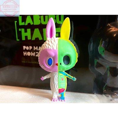【憶美憶家生活館】POPMART泡泡瑪特Labubu半解剖吊卡 手辦潮玩娃娃 拉布布限量dfo950