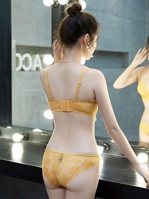 小可愛@蕾絲內衣女套裝聚攏文胸無鋼圈性感上托防下垂收副乳小胸罩加厚款