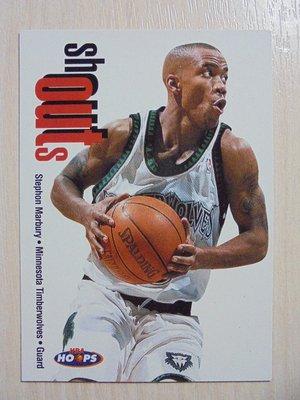 1998-99 Hoops Shouts Stephon Marbury