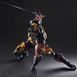 小娟家居*  X戰警Wolverine 英雄系列Play Arts 改金剛狼 金鋼狼 可動 Marvel版