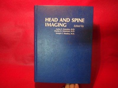 【愛悅二手書坊 15-20】Head and Spine Imaging (A Wiley