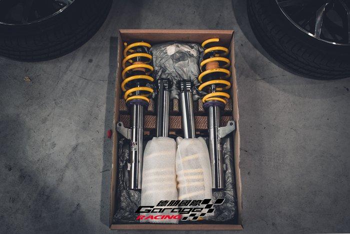 德朋國際 / KW V3 高低阻尼可調避震器 Volkswagen Golf VII Gti 實裝