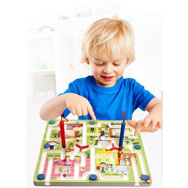 磁性鐵運筆迷宮益智力遊戲女孩男寶寶1-2-3周歲-4-5-6歲兒童玩具