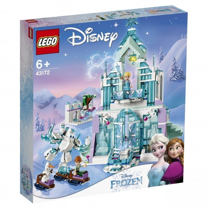 【W先生】LEGO 樂高 積木 迪士尼 DISNEY Elsa的冰雪魔法宮殿 43172 冰雪奇緣 城堡