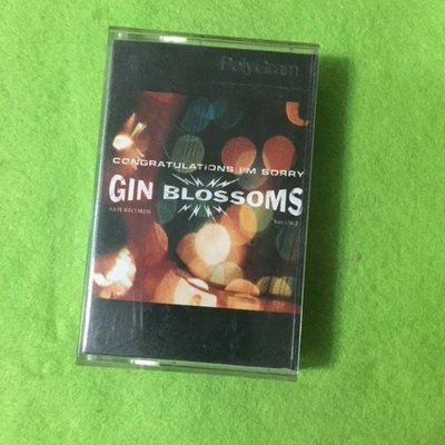 ~春庄生活美學小舖~2手錄音帶    GIN BLOSSOMS/CONGATULATIONS I AM SORRY