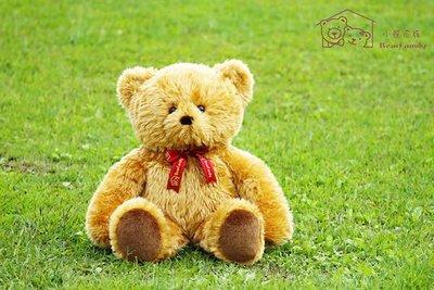 100公分金黃色手工泰迪熊 另有白色/粉紅 代寫卡片 情人節禮物 台灣製造 ~*小熊家族*~