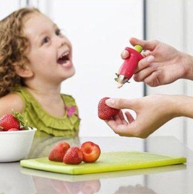 海馬寶寶 草莓去蒂器 水果去蒂刀 水果挖核器 挖草莓工具