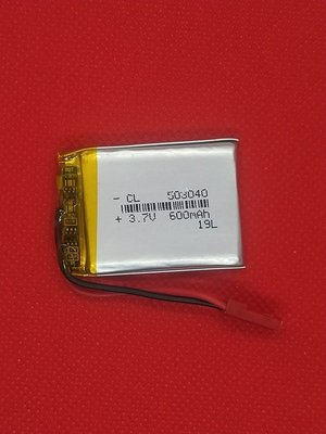【手機寶貝】503040 電池 3.7v 600mAh 鋰聚合物電池 小牛津 帽T熊 萌萌兔 故事機 適用 帶專用接頭