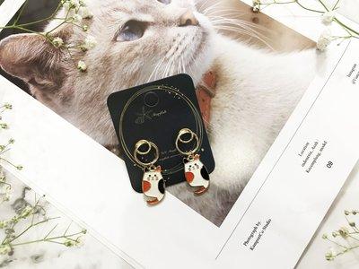 【海星 Starfish】|925銀針|精選可愛小貓造型耳環