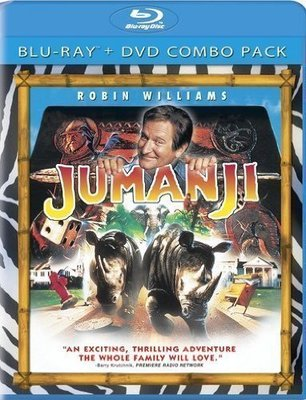 BD 全新美版【野蠻遊戲】【Jumanji】Blu-ray 藍光