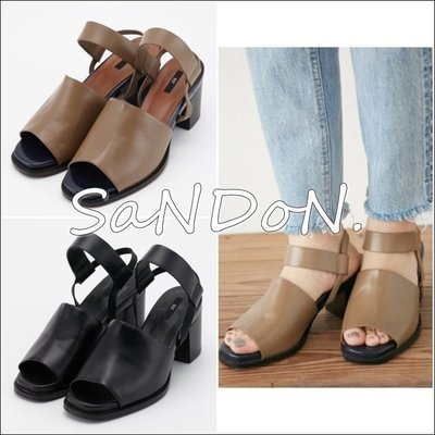 山東:MOUSSY春夏新品STRAP DAILY SANDAL皮革粗跟涼鞋MOUSSY ungrid 160408