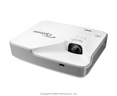 ZX310ST Optoma 3000流明 XGA雷射短焦投影機 XGA 1024x768解析/10W喇叭