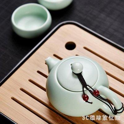 [全場免運]泡茶組日式旅行功夫茶具套裝家用便攜包戶外一壺四杯簡約小茶具套裝迷你 LH5498  【午后街角】