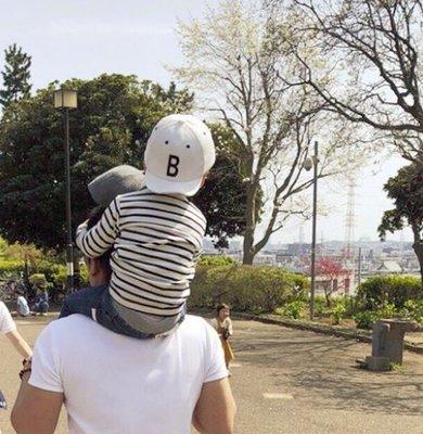  The Dood Life 日本 GRIN BUDDY (グリンバディ)キッズロゴキャップ / 迷你星人帽 B