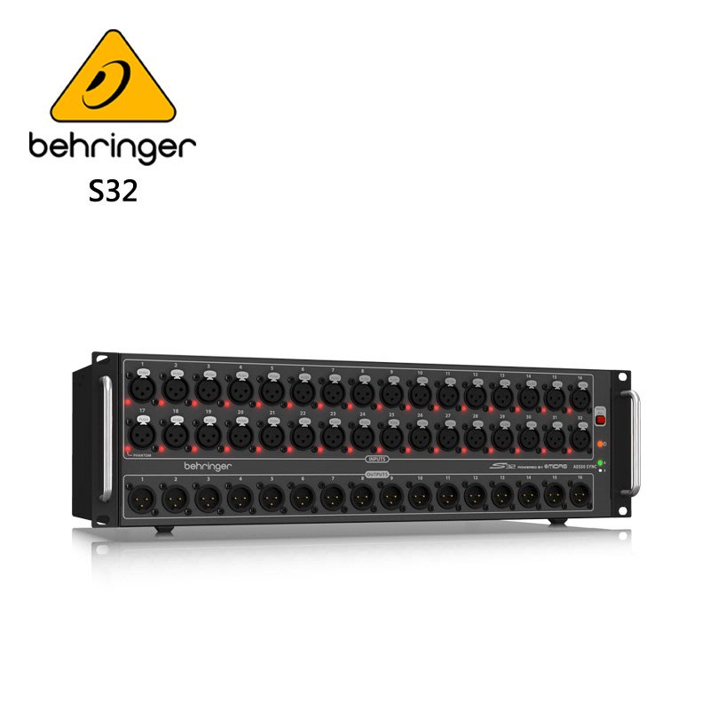 BEHRINGER S32 數位混音器網路接線盒
