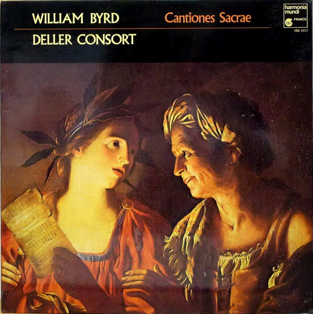 §小宋唱片§ 法版Harmonia Mundi/拜爾德:宗教聖歌集/Deller Consort/二手古典黑膠
