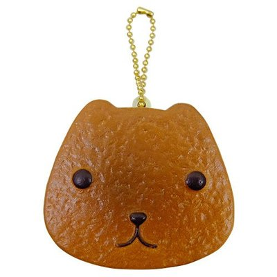 4165本通 カピバラさん ぷにぷにマスコット(クッキーサンドアイス)バニラチョコ