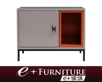 『 e+傢俱 』BB201 黛咪 Demi 現代風格 櫃門側開設計 床頭櫃 | 床邊櫃 | 開放式收納 | 三色配色