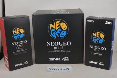 (全新) SNK NeoGeo mini 連 手掣 連 HDMI Cable (行版, 中文/英文/日文) - 街機 拳皇 KOF 經典遊戲機