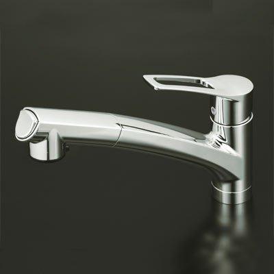 【JP.com】日本代購 KVK KM5021T 廚房伸縮龍頭 ( 2段調整吐水) 流理台水龍頭