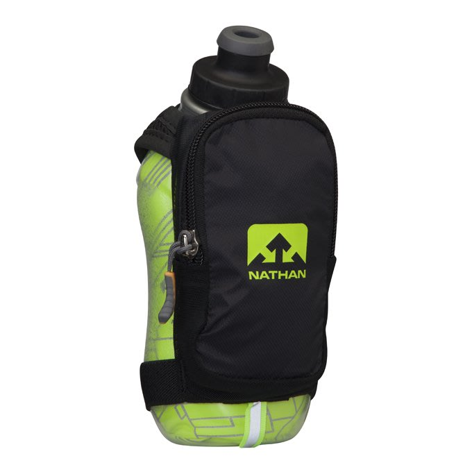 騎跑泳者 - NATHAN SpeedShot Plus Insulated 保冷反光手握壺 355ML,三種顏色可選