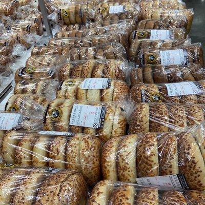 【代購達人】現買現寄•好市多 綜合貝果麵包·肉桂/原味/藍莓/起司🍩