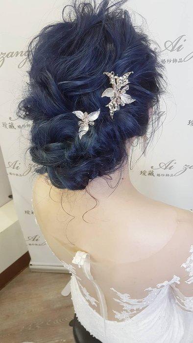 ~璦藏新娘飾品~俏麗花瓣造型頭飾 編號O525