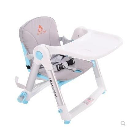 寶寶餐椅嬰兒吃飯椅子可折疊多功能便攜式兩用飯桌 0-3歲兒童餐桌igo