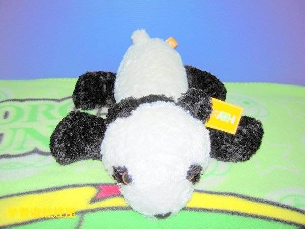 【辛普森娃娃屋】中型貓熊熊貓項圈絨毛娃娃