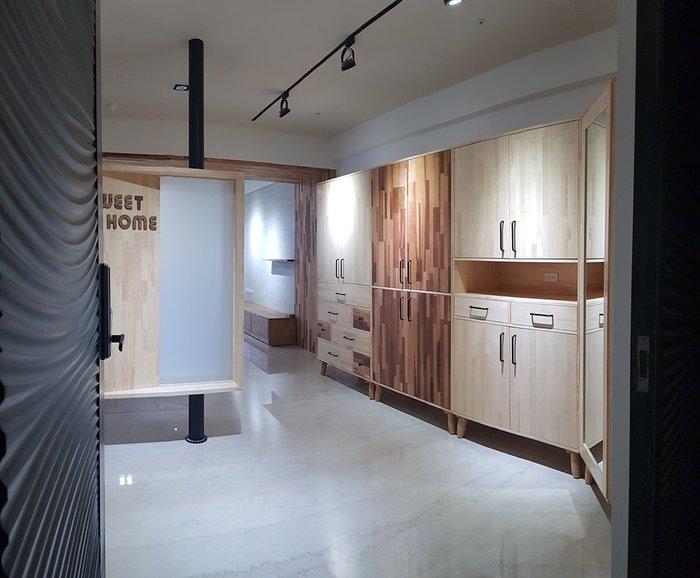 北歐風簡約鞋櫃 展示櫃 置物櫃 鞋櫃 - 鄉村玫瑰 木工坊 店面裝潢