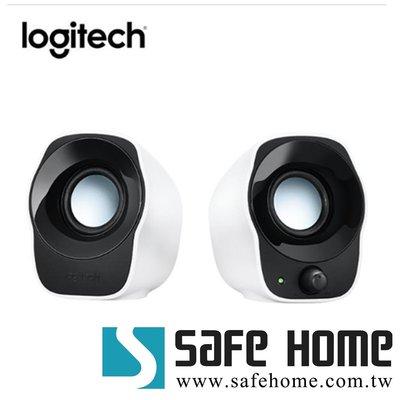 SAFEHOME  羅技 立體聲音箱 USB供電 3.5mm 輸入 可控制音量及電源 GB7428