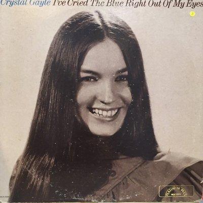 §小宋唱片§ 美版/Crystal Gayle – Ive Cried The Blue/二手西洋黑膠/Promo